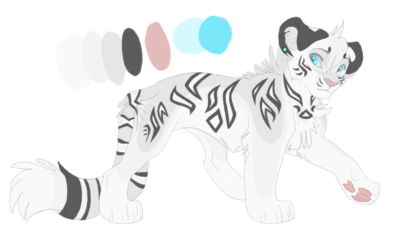 White Tigress Auction SOLD by xXTikiTikiXx