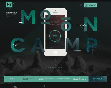 Mooncamp - APP by lukaszsokol