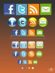 social media icon pack by blue2x