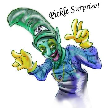 Pickle surprise by buster126