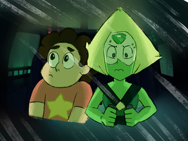 Gem Drill (Steven Universe - IN TOO DEEP) by color-theorist
