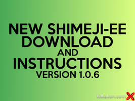 Shimeji-ee 1.0.6 Download And Instructions by kilkakon-totodile