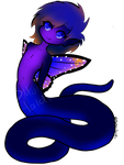 OPEN ADOPT - Fairy Naga - Purple Butterfly by Twin-Towers