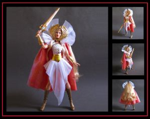 SDCC She-Ra (custom doll) by nightwing1975