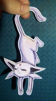 Espeon request by doodle-dee