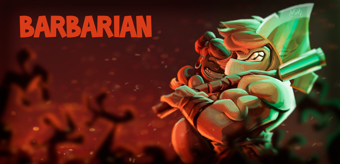 Barbarian by Anthony-g09