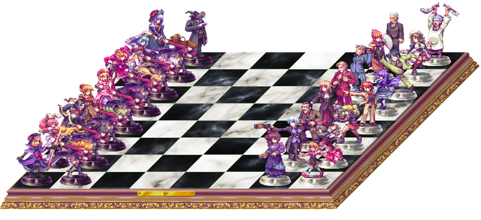 Chessboard of the Golden Witch by AbyssWolf