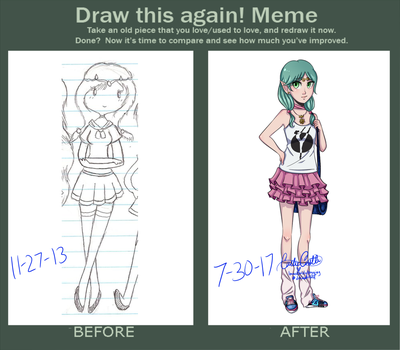 Raei - Draw This Again Meme by ImmediatelyAnnoying
