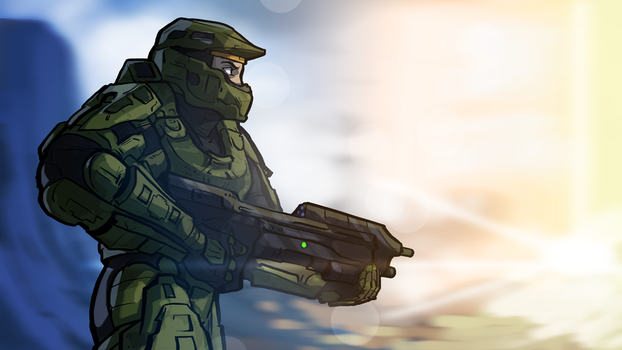 Ssohpkc Title Card - Halo 4 by IntroducingEmy