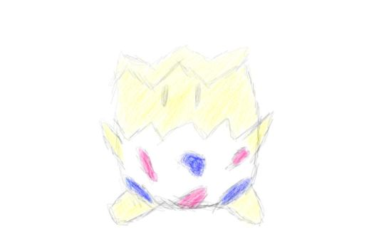 Togepi another corel test hnng by Sir-Wannabe