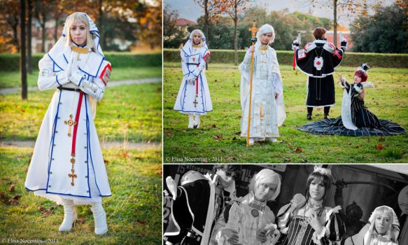 Trinity Blood cosplay group by Valtica