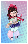 Raver Vanellope by Skirtzzz