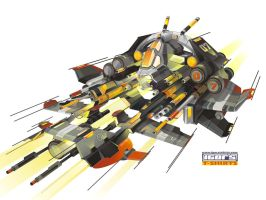 concept vector ship by igorstshirts