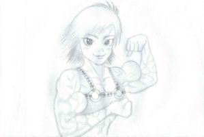 Yeah, I'm stronger than you... by CMGjim