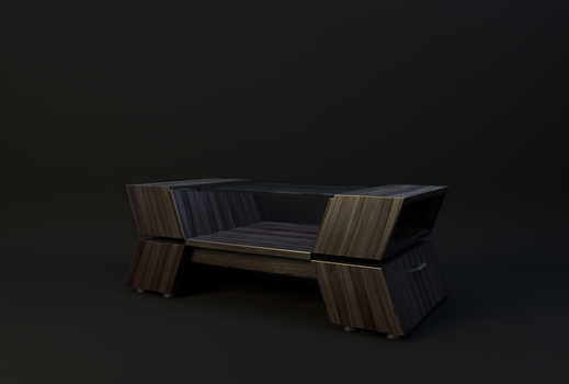 Coffee Table ~ Architectural Asset by JoeyBlendhead