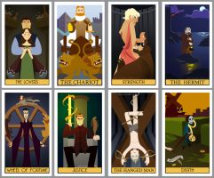 Game of Thrones Tarot - Part 2 by poly-m