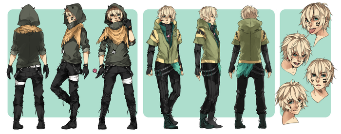 Character Sheet: Keil by crys-art