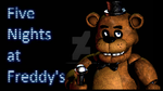 Five Nights at Freddy's 1 Fan Button by RandomAcount4