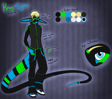 Kroy Sync Human Ref by CosmicDerp