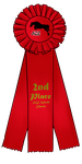Second Place Ribbon by SilverCreekEquestria