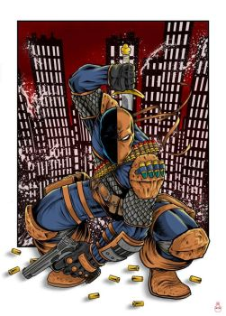 Deathstroke Colors by thedavemyers