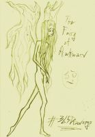 365 Drawings: Jan 1st, The Fairy of Awkward by TheTomFace