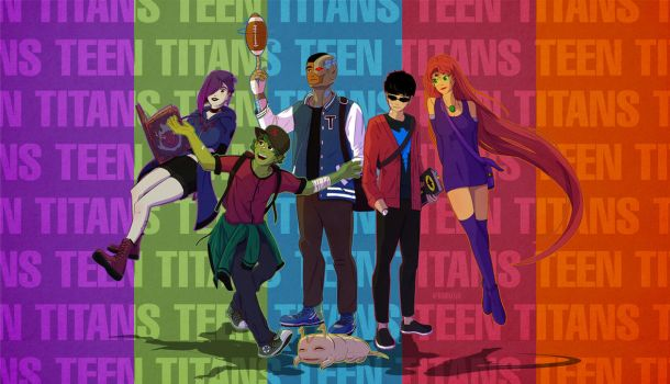Young Titans! by Markistic