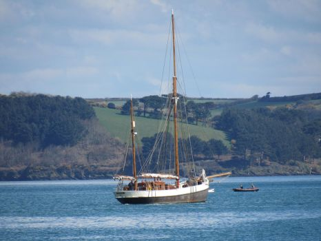 Sailing in Falmouth by EleanorMayDodson
