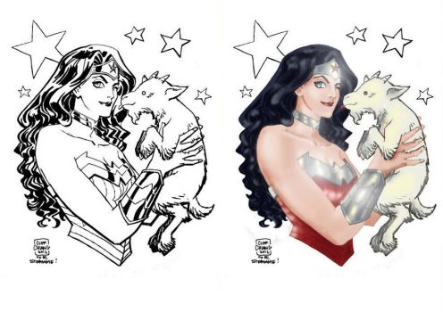 Wonder Woman by Cliff Chiang by NigelHalsey