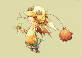 The Chocobo Knight by Luce-in-the-sky