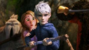 Jack Frost and Rapunzel by Venus-Mike-Adel-Leo