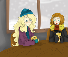 Ginny and Luna by chibiGaaLee