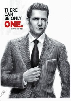 Harvey Specter (Gabriel Macht) from Suits by Jolene-eSousa