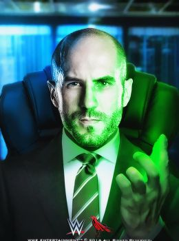 Cesaro Luthor by Cag3dRav3n