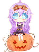 Commission: Happy Halloween ! by Guro-qu