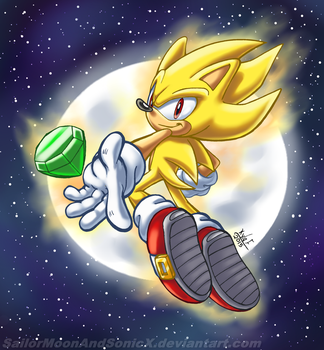 SHINY HEDGEHOG by SailorMoonAndSonicX