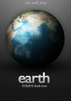 Earth Icon - 512x512 by PsychOut