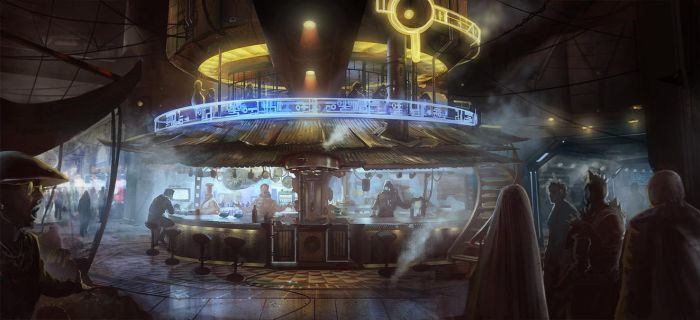 Future Bar by DrawingNightmare