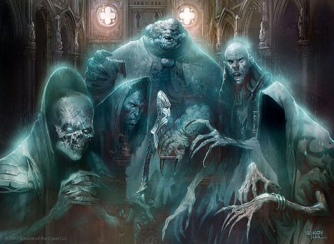 Ghost council of Orzhova by velinov