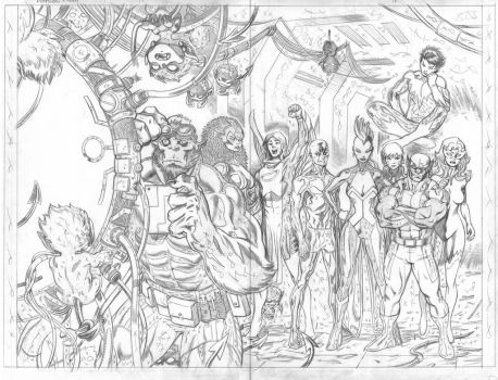 Amazing Xmen1 Pg17-18 preview pages by EdMcGuinness