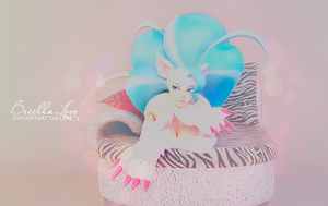 Felicia Relaxing Pose by BriellaLove