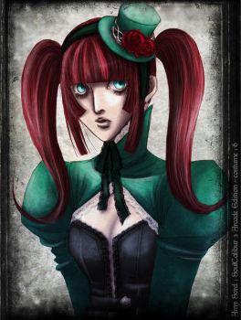 Gothic Amy by masaero