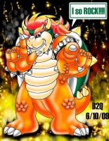 Classic Bowser ROCKS by Bowser2Queen