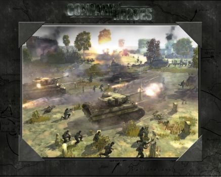 Company of Heroes Wallpaper 6 by flipapple