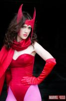 Scarlet Witch Preview by RuffleButtCosplay