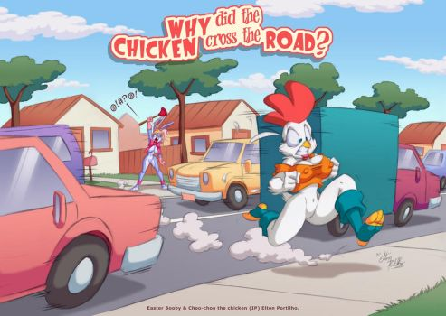Why did the chicken cross the by eltonpot