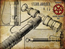 Steam-Hammer 3D ghosted by Steam-HeART
