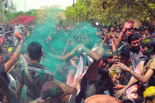 Holi Festival by z0we-from-space