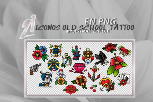 +Pack de Iconos [old school tattoo] -FREE- by SadFeminazi