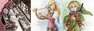 Music of the Goddesses by ZulayaWolf